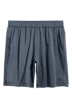Short sports shorts - Dark grey-blue - Men | H&M 2