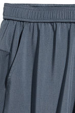 Short sports shorts - Dark grey-blue - Men | H&M 3