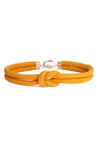 Braided waist belt - Orange - Ladies | H&M 1