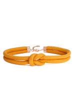 Braided waist belt - Orange - Ladies | H&M CN 1