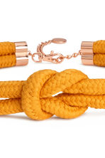 Braided waist belt - Orange - Ladies | H&M 2