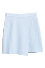Wrapover skirt - Light blue - Ladies | H&M 2
