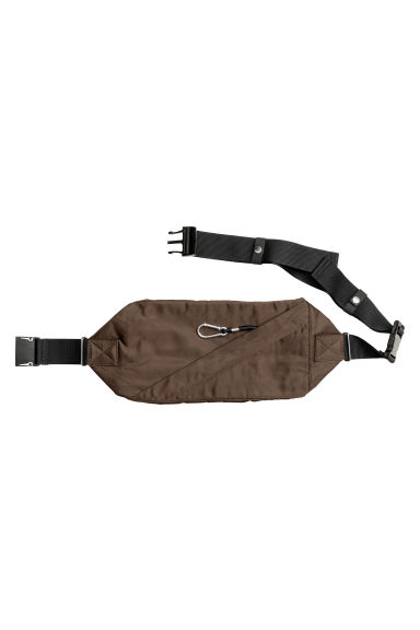 Waist bag - Dark khaki green - Men | H&M