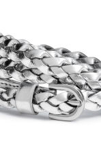 Narrow belt - Silver - Ladies | H&M CN 3