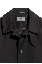 Cotton twill car coat - Black - Men | H&M 3