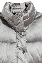 Padded jacket - Silver-coloured - Ladies | H&M IE 3