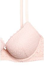 Lace push-up bra - Powder pink - Ladies | H&M 3