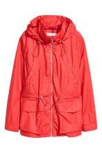 Hooded jacket - Red - Ladies | H&M CN 2