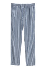 Pyjama bottoms - Blue/White striped - Men | H&M GB 2