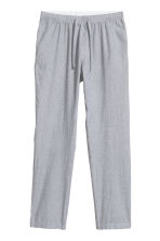 Pyjama bottoms - White/Grey striped - Men | H&M GB 2