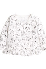 2-pack jersey pyjamas - Grey/Spotted - Kids | H&M 3