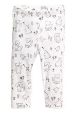 2-pack jersey pyjamas - Grey/Spotted - Kids | H&M 2
