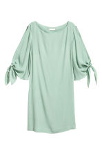 Short dress - Mint green - Ladies | H&M CA 2