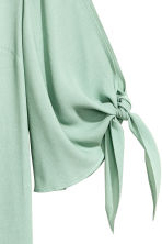 Short dress - Mint green - Ladies | H&M CA 3