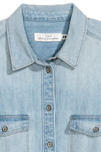 Denim shirt - Light denim blue - Ladies | H&M 2