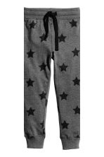 2件入慢跑褲 - Dark grey/Stars -  | H&M 4