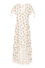 Patterned wrap dress - White/Floral - Ladies | H&M 2