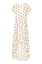 Patterned wrap dress - White/Floral - Ladies | H&M 3