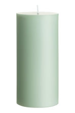 Large pillar candle - Dusky green - Home All | H&M CA 1