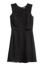 Abito con perline - Nero - DONNA | H&M IT 2