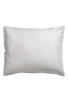 Washed cotton pillowcase