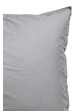 Washed cotton pillowcase - Grey - Home All | H&M CN 3