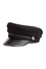 Captain's cap - Black - Ladies | H&M GB 1