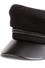 Captain's cap - Black - Ladies | H&M GB 2