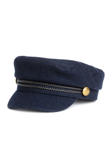 Captain's cap - Dark blue - Ladies | H&M 1