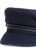 Captain's cap - Dark blue - Ladies | H&M 2