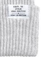 Rib-knit hat - Light grey marl - Ladies | H&M IE 2