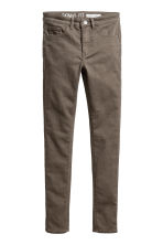 Generous fit Stretch trousers - Khaki green - Kids | H&M CN 1