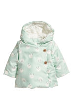 Padded jacket - Mint green/Rabbits -  | H&M 1