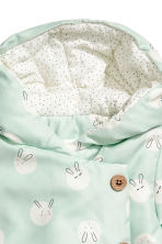 Padded jacket - Mint green/Rabbits -  | H&M 2