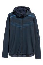 Running jacket - Dark blue - Men | H&M CN 2