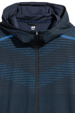 Running jacket - Dark blue - Men | H&M CN 3