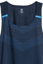 Running top - Dark blue - Men | H&M 3