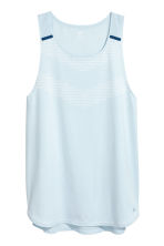 Running top - Light blue - Men | H&M 2