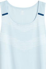 Running top - Light blue - Men | H&M 3