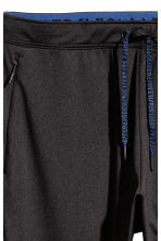Running trousers - Black - Men | H&M CN 4