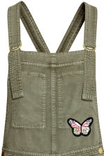 萊賽爾吊帶短褲 - Khaki green/Butterflies - Ladies | H&M 3