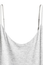 Slip dress - Light grey marl - Ladies | H&M 3