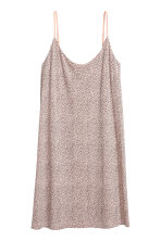 Slip dress - Powder pink/Pattern - Ladies | H&M 2
