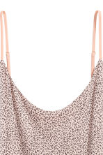 Slip dress - Powder pink/Pattern - Ladies | H&M 3