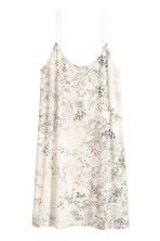 襯裙 - Natural white/Floral - Ladies | H&M 2
