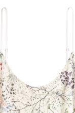 襯裙 - Natural white/Floral - Ladies | H&M 3