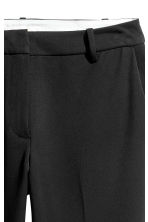 Cigarette trousers - Black - Ladies | H&M CN 4