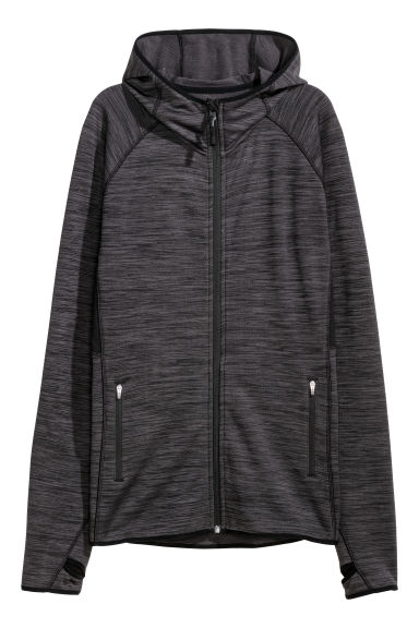 Fleece outdoor jacket - Black - Ladies | H&M CN