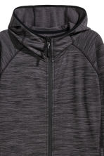 Fleece outdoor jacket - Black - Ladies | H&M 2