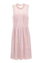 Pleated dress - Light pink -  | H&M 2